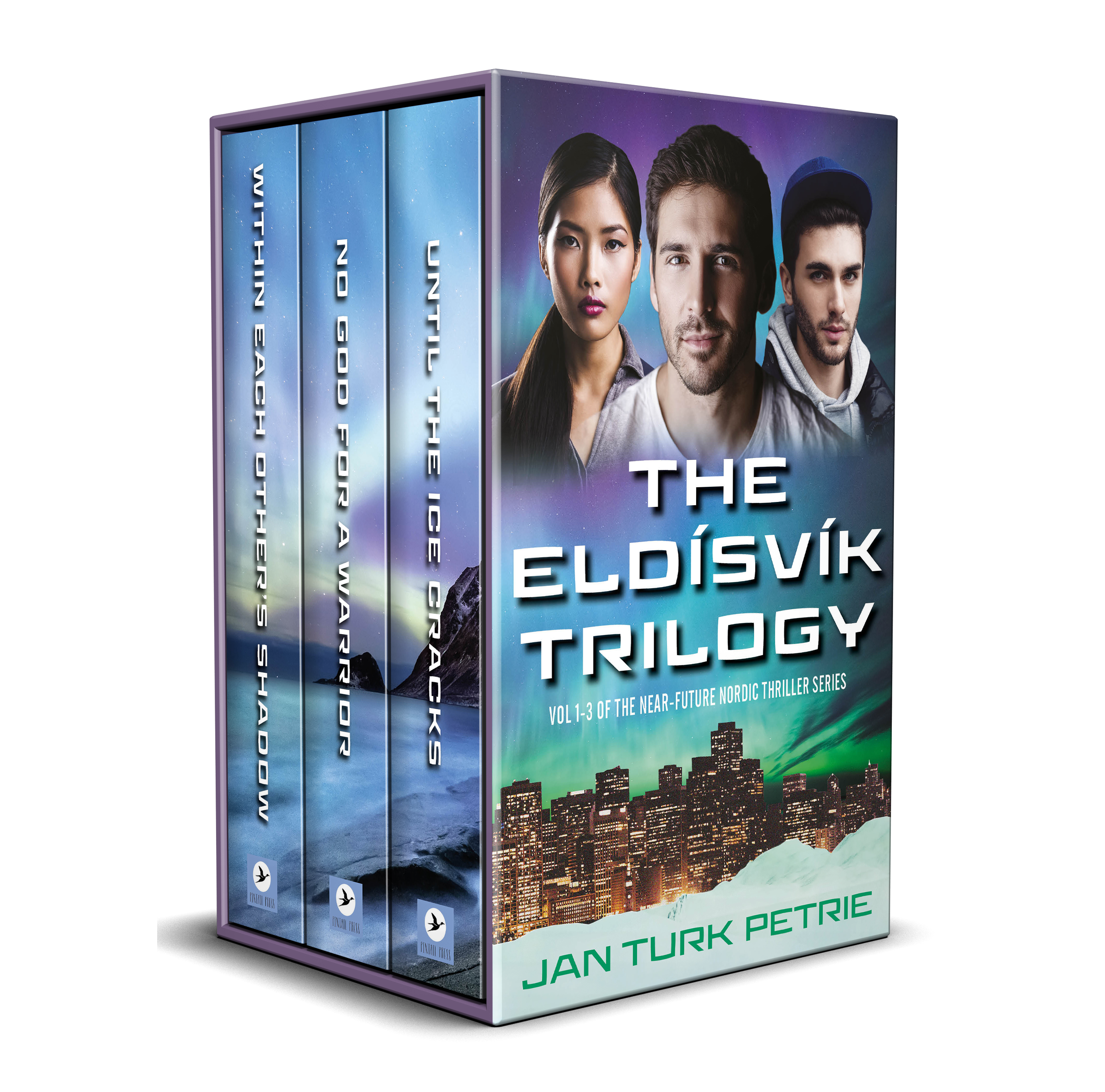 The Eldísvík Trilogy Cover 3D
