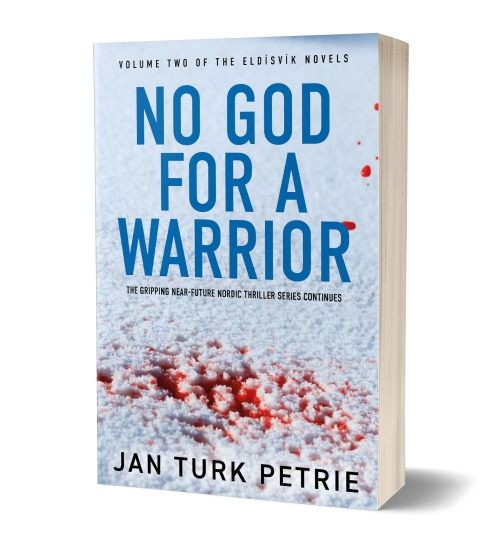 No God for a Warrior Cover 3D